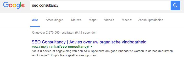 SEO-consultancy