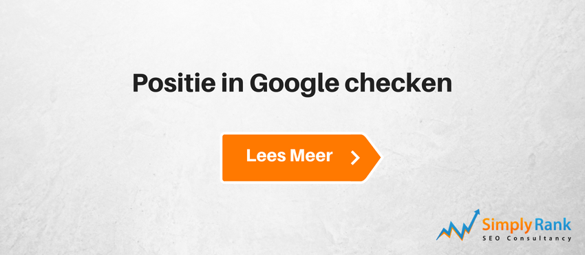 Positie in Google checken