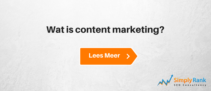 Wat is content marketing